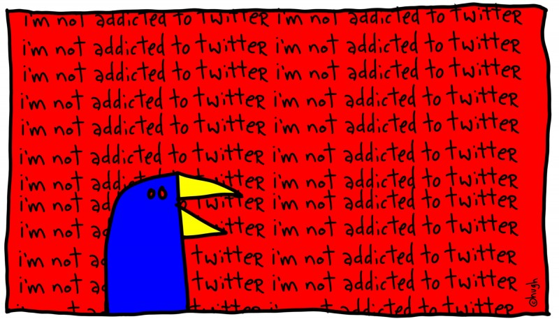 Addicted to Twitter