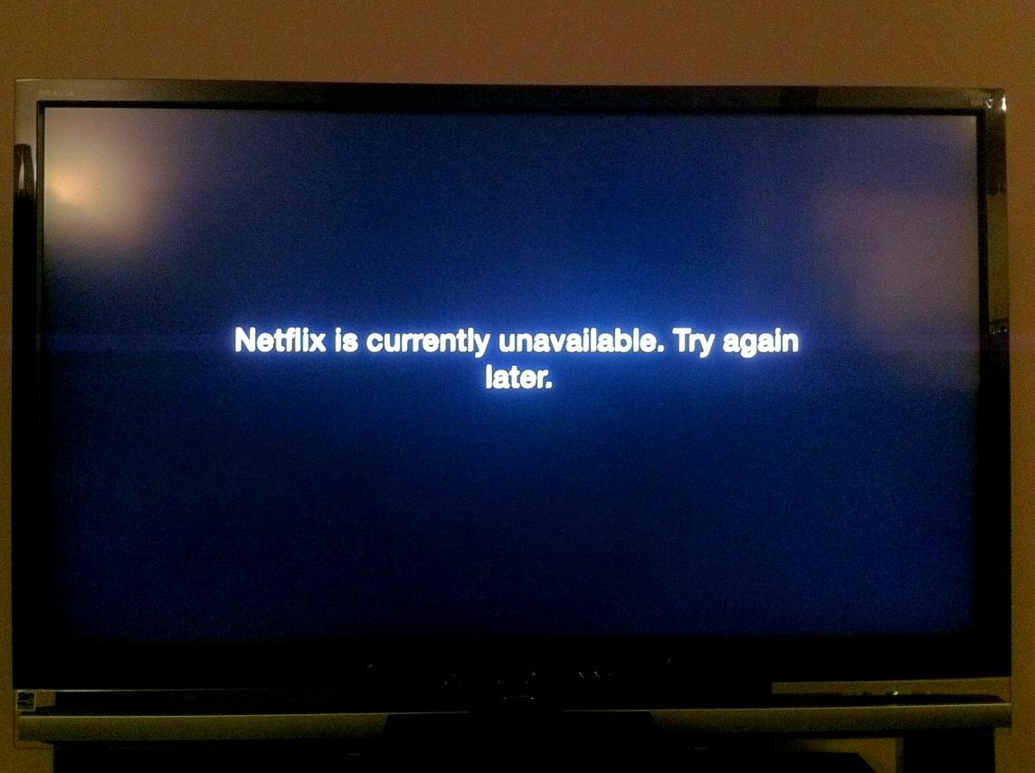 Netflix Error